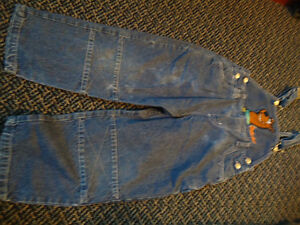 Boys size 4 Scooby-Doo Jean Overalls Kingston Kingston Area image 2