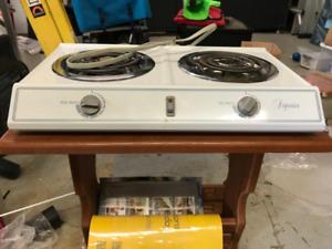 1500 watt electrtic double burner