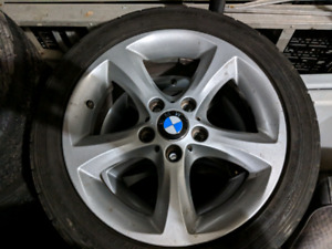 Summer tires with BMW original Mags
