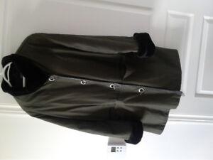 Manteau  d'hiver.