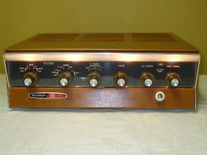 Heathkit AA-100 Stereo Integrated Tube Amplifier Vintage 60's