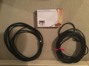 HDMI cables and splitter