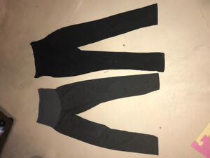 2 Large Maternity Tights/Leggings - fro
