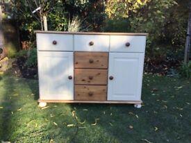 Pine Sideboard / Dresser base / Cupboard NEW PRICE