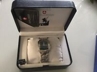 Gents stainless steel watch