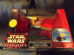 Star Wars Episode 1  Naboo Starfighter Wake-up System