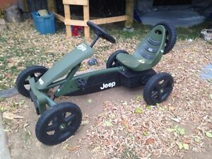 Jeep pedal car go kart or sale