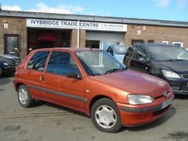2001 PEUGEOT 106 1.1 INDEPENDENCE 3D 60 BHP