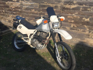 Rare all original 1986 Suzuki DR600 Dakar with only 15k- $2500
