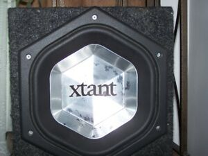 "10"" Xtant Series Subwoofer 500 Watts RMS, Peak 1000 Watts"