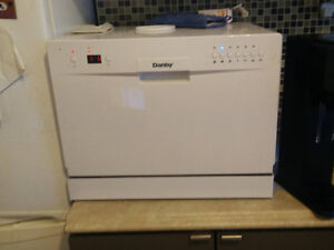 Danby Portable Countertop Dishwasher - Used but works great