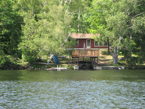 Lakefront Cottage with Boat, Canada Day Long Weekend