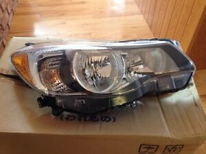 Headlight assembly 2012 Subaru Impreza