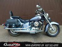 2005 Yamaha V-STAR 650 CLASSIC  24 984 KM 16,38$/SEMAINE
