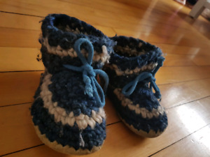 2 Pairs of Padraig's Cottage Slippers
