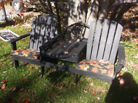 2 seater bench / can deliver