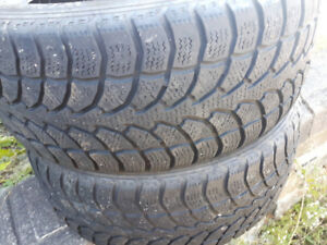 for sale pair of 225/50r17 winter tires for sale, lots of thread