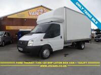 2012 62 FORD TRANSIT 350 LWB LUTON BOX + TAILIFT 125 BHP ENGINE T350 3500 KG TON