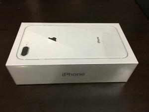 Brand New BNIB Sealed in Box Unlocked iPhone 8 Plus 64GB Silver