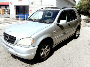 2002 MERCEDES ML320..FULLY LOADED..MINT CONDITION!!