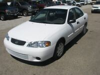 2002 nissan sentra for parts  good motor transmiission  and more