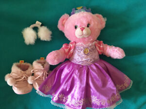 Rapunzel bear Christmas toy