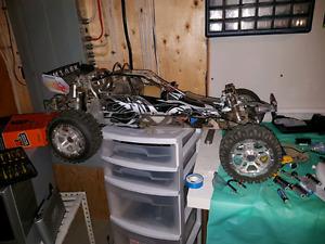 Baja big rc  toy all aluminum 30.5cc