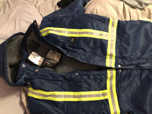 Helly Hansen Polar Work Suit with CSA Striping