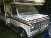 Parting out 1985 Triple E Motorhome