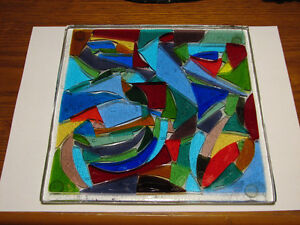 Stained Glass Trivet