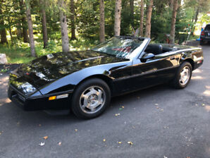 Collector item: 1988 Corvette Convertible with 59,900 orig KM