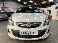 2012 Vauxhall Corsa Limited Edition Hatchback Petrol Manual