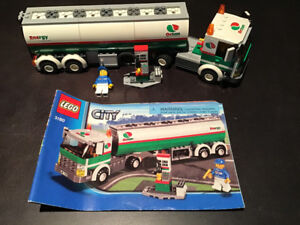 LEGO City 3180 Tank Truck - 100% Complete