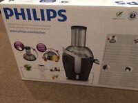 Black Philips juicer Brand New