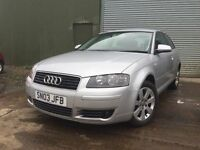 Audi A3 se 2.0 FSI (6 speed) 1 years MOT £1395