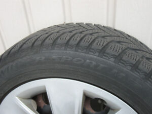 Winter Tires Dunlop 205 / 55 R16 91H BMW 3-Series *with* Rims