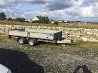 Ifor Williams 3.5t plant trailer