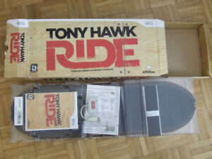 Tony Hawk skateboard for Nintendo Wii +game disc. New. Open box.