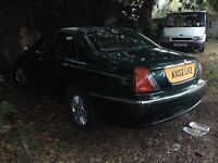 Rover 75 2.6 spares or repairs 2002 cheap