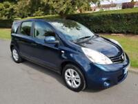 NISSAN NOTE 1.6 16v ACENTA - AUTOMATIC - 5 DOOR - 2009 - BLUE **NEW SHAPE**