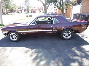 1967 MUSTANG CLONED AS A GT/CS CALIFORNIA SPECIAL * SOLD * SOLD
