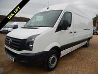 2012 12 VOLKSWAGEN CRAFTER 2.0 CR35 BLUEMOTION TDI HIGH ROOF 109 BHP WITH TAIL L