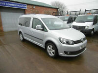 2012 VW Caddy Maxi Life Mpv 5 Seats disabled wheelchair access mobility scooter