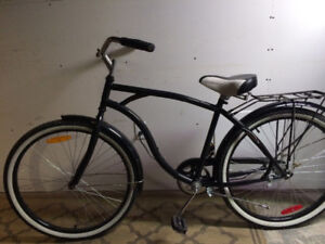 Supercycle classic cruiser bike, (26 Inch tires)