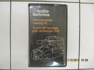 Classic Audio Technica VHS Camcorder/PlayerCleaning Kit Cir1980s