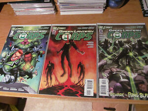 New 52 Green Lantenr Corps Completed Issues #0-24 with extra