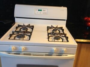Whirpool Gas Stove (Optional Whirpool Fridge)