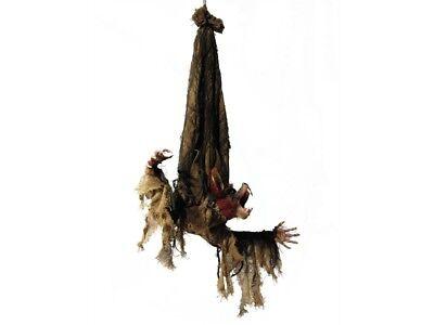 Halloween Figur BAT Fledermaus, bewegt Arme + Kopf, Augen blinken rot