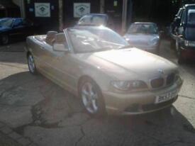 BMW 325 2.5 auto 2003MY Ci