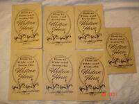 horse riding booklets, western horseman, Appaloosa Journal